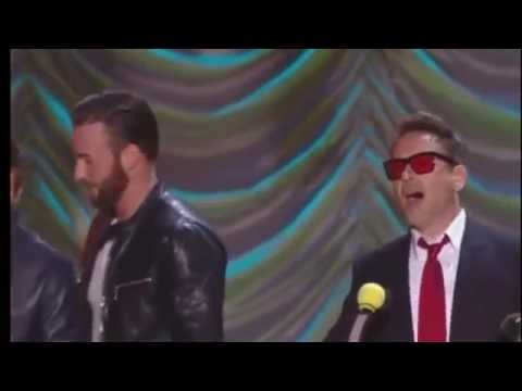 Robert Downey jr  accepts the generation award MTV Movie Awards 2015 HD
