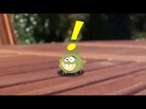 Hand Hygiene: Germy the Germ Gets Washed Away!