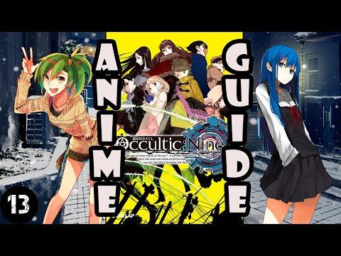 Какое аниме посмотреть? (13) Оккультная девятка/ обзор аниме