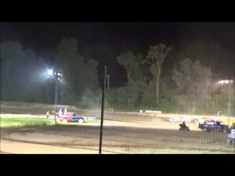 Raymond Lindquist's first win at Penn Can Speedway 7-18-14