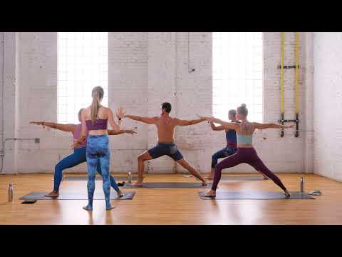 Core Stability Yoga With Claire E 20 Min Class Yoga Sculpt Bodyweight Corepower Yoga Youtube
