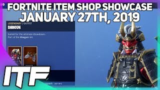 Fortnite Item Shop for January 27th, 2019 or 1/27/19. Let's see wha...