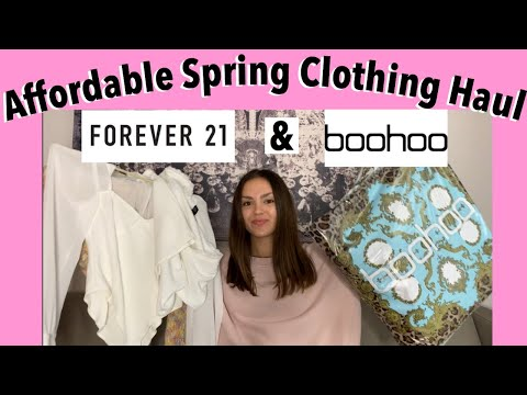 AFFORDABLE Clothing Haul!   Boohoo, Forever 21