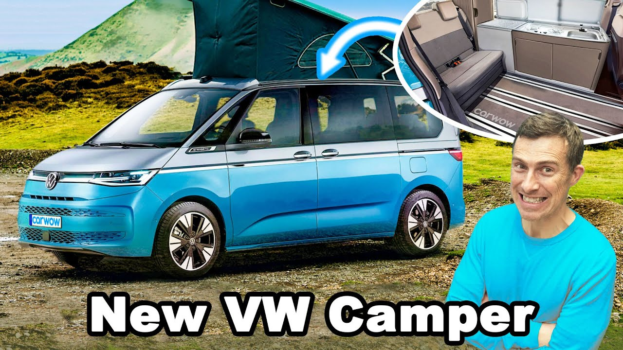 New VW California - you won't believe what's inside! - carwow
