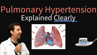Pulmonary Hypertension Explained Clearly by MedCram.com
