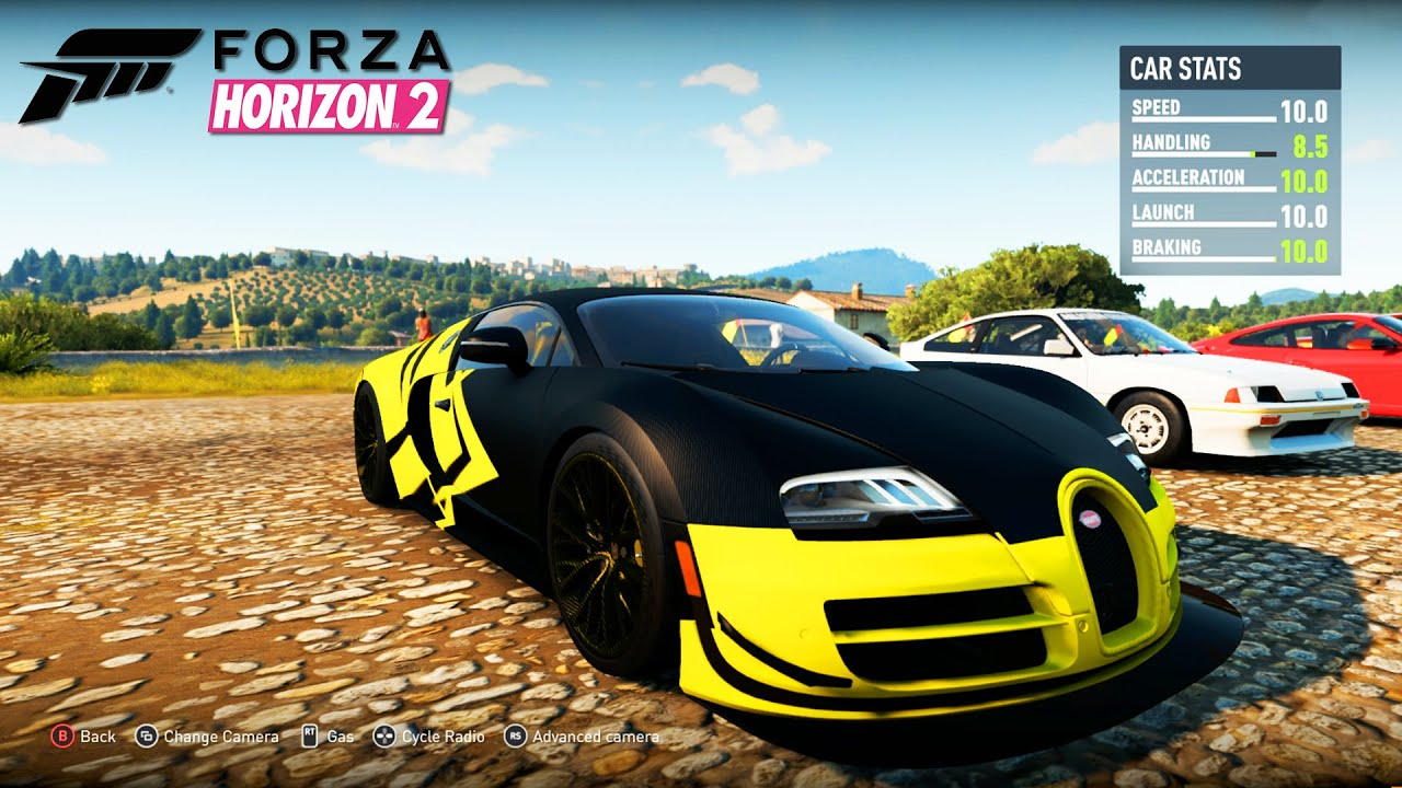 forza horizon 2 bugatti veyron ss hyper car forza horizon 2 campaign episode 6 youtube. Black Bedroom Furniture Sets. Home Design Ideas