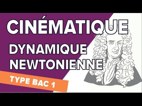 Cinématique et Dynamique Newtonienne - Exercice Type Bac 1 - Mathrix