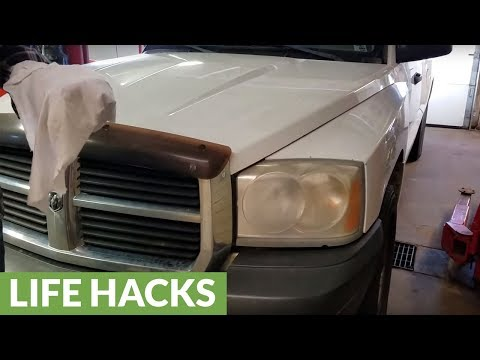 Vehicle headlight repair and residue removal  in under 30 seconds