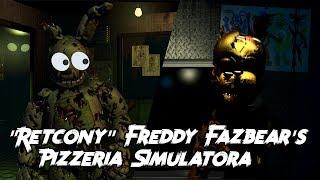 Czy FFPS miał retcony/redesigny? - Omówienie Freddy Fazbear's Pizzeria Simulatora [PL/ENG]