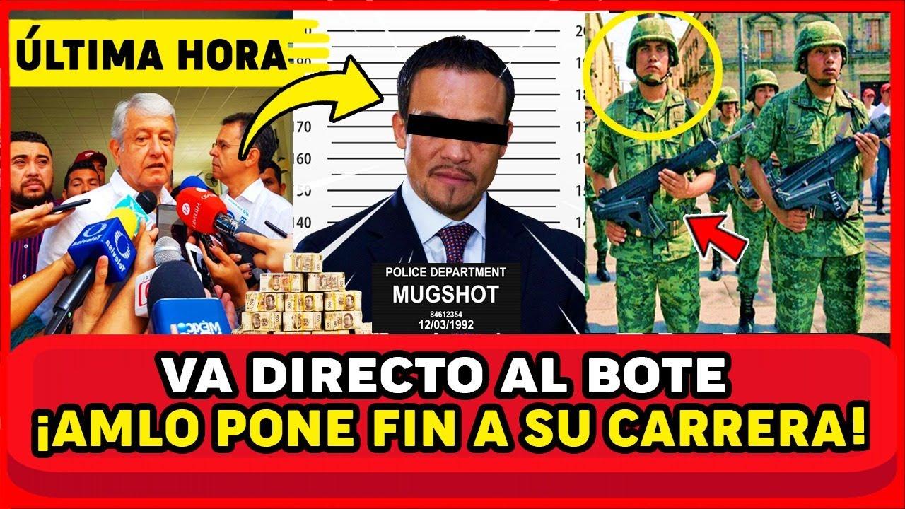 ¡MEXICO VA A ARDER! CAE AL BOTE FAMOSO BOXEADOR! SE ROBÓ 12 MILLONES Y AMLO Y MEXICO FESTEJAN