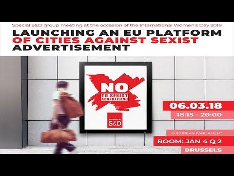 S&Ds: Launching an EU platform for cities against sexist advertisement - ORI
