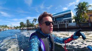 Взяли Гидроциклы Чтобы Поехать на Подводную Охоту в Майами. Готовим Рыбу в Духовке