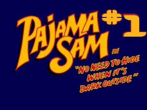 Pajama Sam in No Need to Hide When It's Dark Outside - Part 1 |