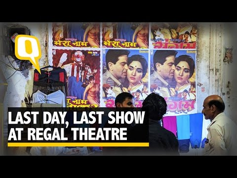 The Quint: Curtains are down on the Legendary Regal Theater in Delhi.
