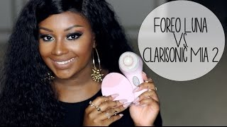 Which do I prefer? | Foreo Luna vs. Clarisonic Mia 2!