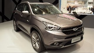 The ALL NEW Chery Tiggo 7 2018 In detail review walkaround Interior Exterior