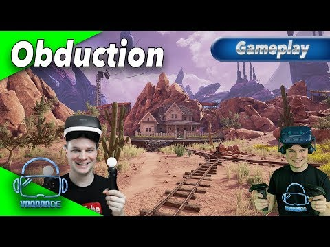 Obduction - VR Adventure mit Top-Grafik für PSVR / Vive / Rift  [Gameplay][German][Virtual Reality]