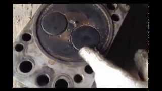 Частые проблемы клапанной головки на двигателе камаз