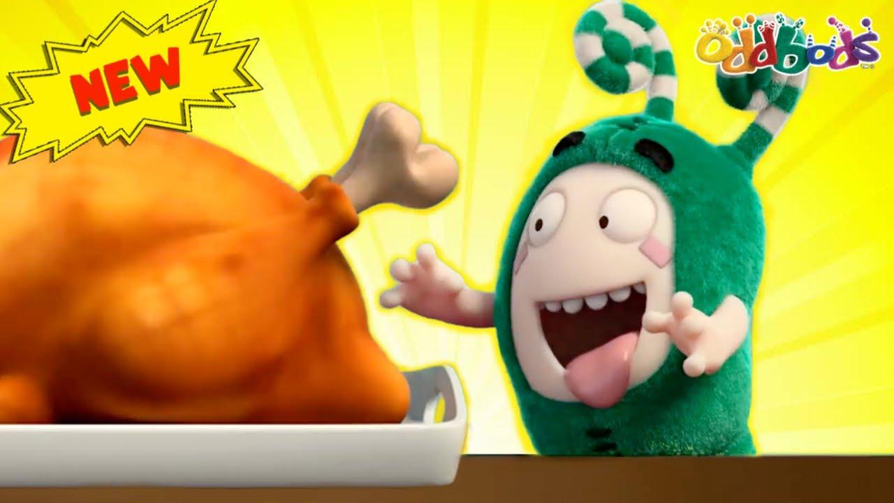 Oddbods   NEW   TURKEYLICIOUS THANKSGIVING   Funny Cartoons For Kids