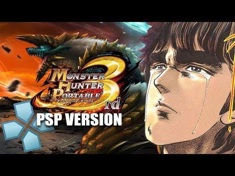 Monster Hunter Portable 3rd (PSP Version, not the HD Version) on