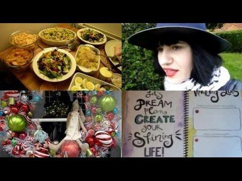 228. [VIDEO SCRAPBOOK] A Festive Stroll   Graveyard Musings   Biz & Life Workbook Unboxing