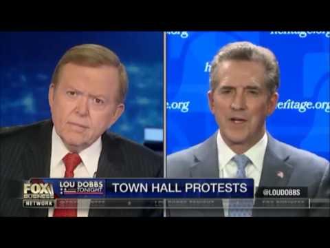 Jim DeMint: Left's Fake 'Temper Tantrum' Funded by George Soros, Obama Front Groups