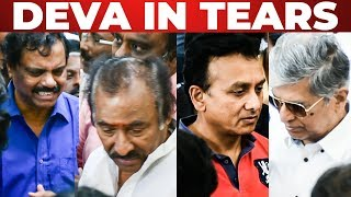 Emotional: Deva, S.A.C, Unnikrishnan Pays Last Tribute to Lakshman Sruthi Raman