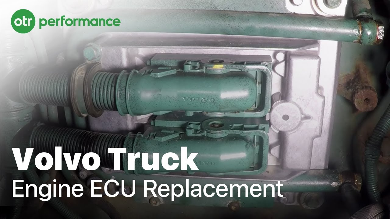 volvo truck engine ecu replacement d12 otr performance youtube 2014 Volvo VNL