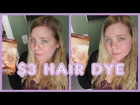 Revlon Colorsilk Medium Ash Blonde Youtube