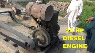 24-hp-double-cylinder-diesel-peter-engine-old-engine-in-punjab