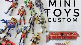 Custom & Review Action Pose Satria Heroes Bima-X