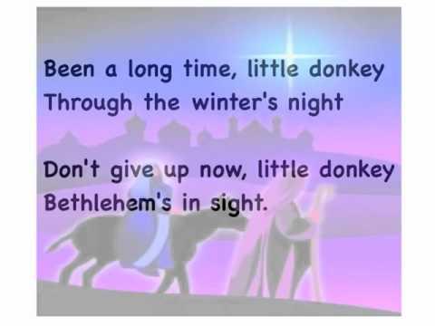 Little Donkey - Lyrics