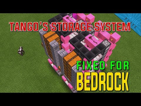 TUTORIAL: How to Fix Tango Tek's Storage System for Bedrock