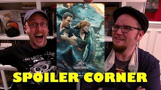 Jurassic World: Fallen Kingdom - Spoiler Corner
