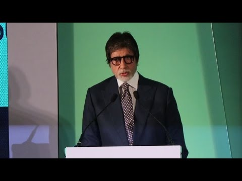 Amitabh Bachchan's FULL SPEECH At World Health Organization Event