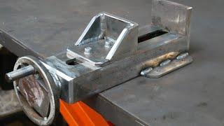 Making Vise for cutting metal /circular saw a cutting metal, Part1