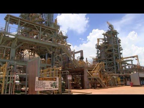 Nickel Asia opens in Surigao del Norte