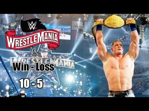 Download John Cena Wrestlemania Win-Loss Highlights_HD