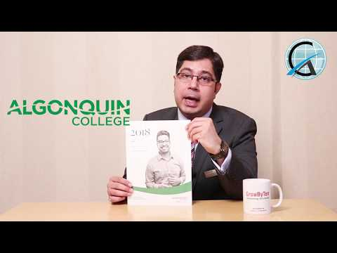 Study in Canada | Algonquin College | Indian Students