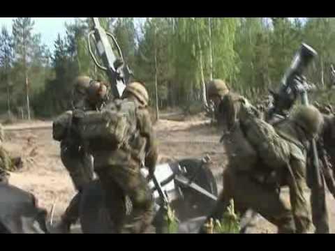 finish armys mortar training