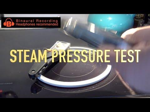 WMF Pressure Cooker Pressure and Steam Test