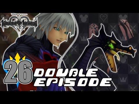 Kingdom Hearts HD 1.5 ReMIX - Kingdom Hearts Final Mix - Ep. 26 - Riku-Ansem & Maleficent (Dragon)