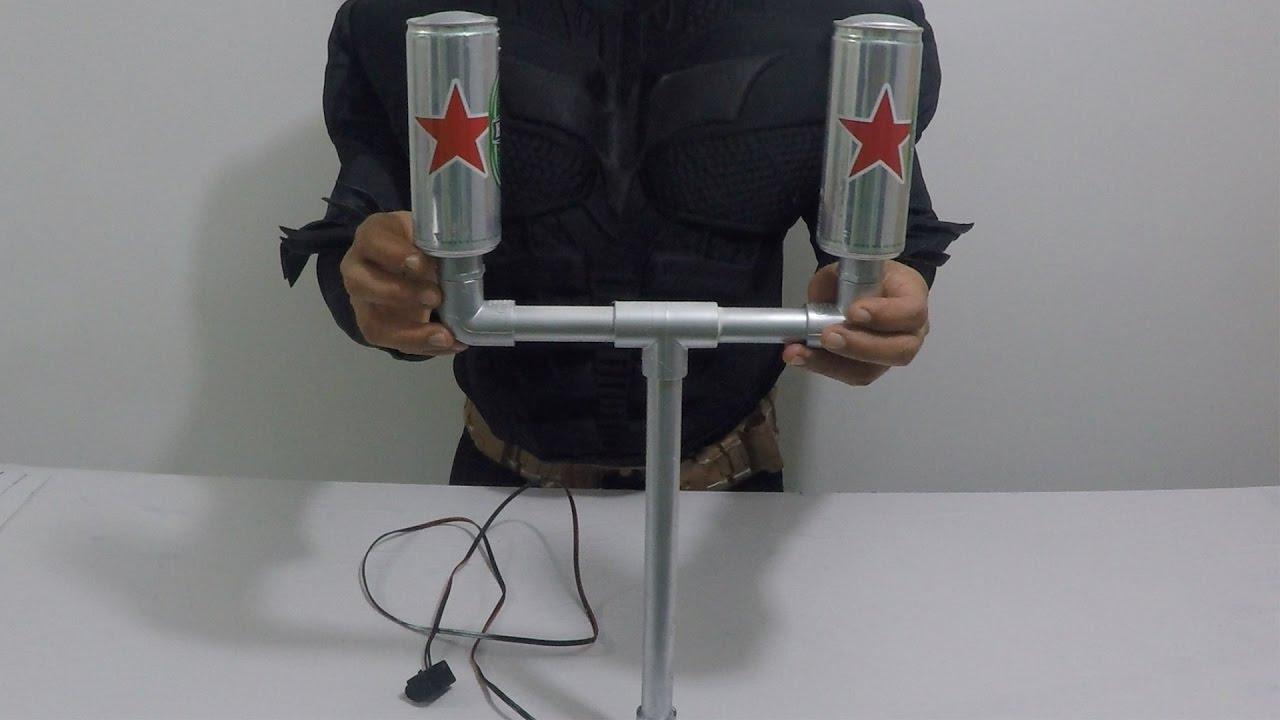 La antena tdt tda mas poderosa con latas hacks youtube - Antena tdt interior casera ...