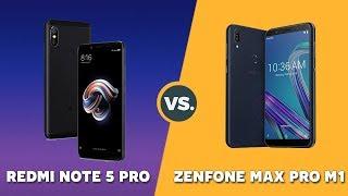 Speedtest Xiaomi Redmi Note 5 Pro vs Asus Zenfone Max Pro M1: Ngang giá có ngang hiệu năng?