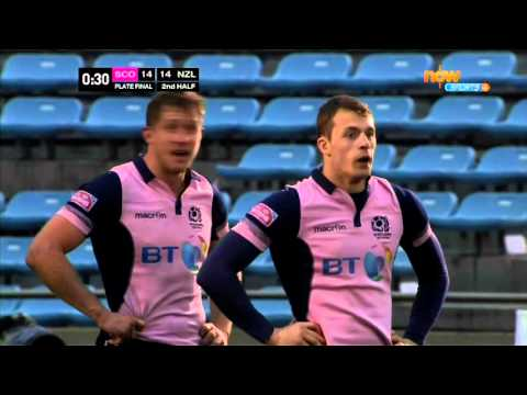 2015 Japan IRB Rugby Sevens World Series Scotland VS New Zealand 2/2