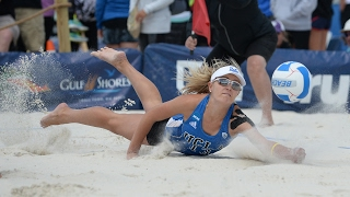 Highlights: UCLA falls to Pepperdine, drops to elimination bracket at NCAA Beach Volleyball...