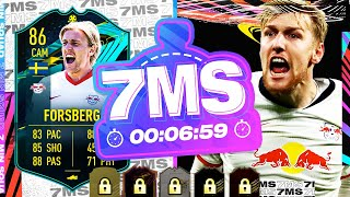 INCREDIBLE NLW HYBRID! 86 PLAYER MOMENTS FORSBERG!! 7 MINUTE SQUAD BUILDER - FIFA 21 ULTIMATE TEAM