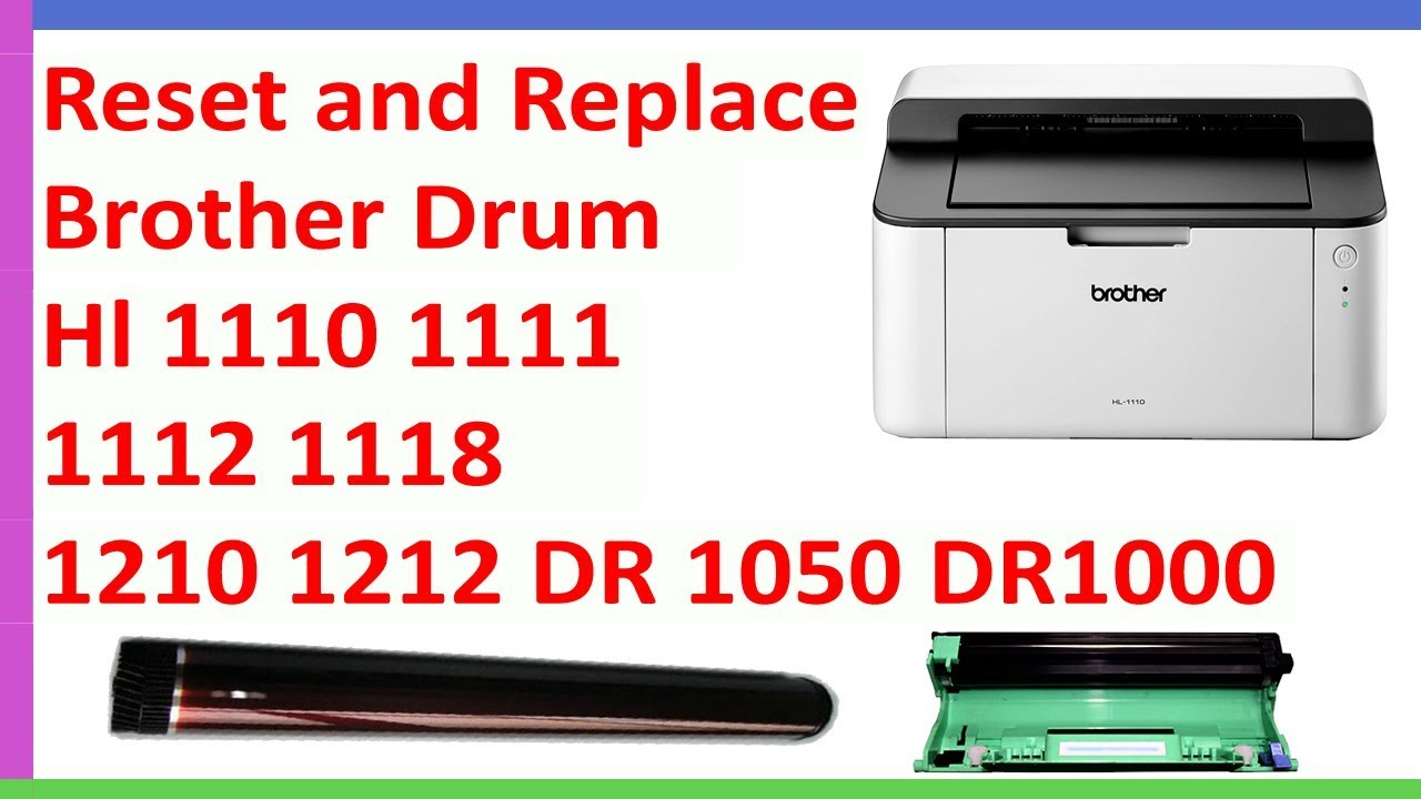 How to reset brother hl-2140 laser printer