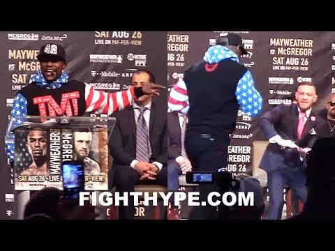 "Thumbnail: (MUST SEE!!!) FLOYD MAYWEATHER ERUPTS ON CONOR MCGREGOR WITH CLASSIC ""PRETTY BOY"" SMACK TALK"