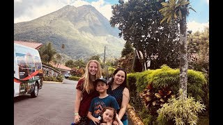 My Crazy Weekend as a Study Abroad Student in Costa Rica | Hot Springs | Volcano | Running ALL nigh